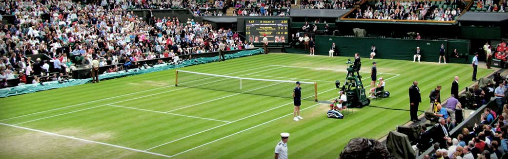 The Championships, Wimbledon Tennis Tournament London England Facilities Management